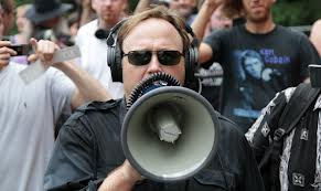 Alex Jones, one of the leaders of the non mainstream US media movement