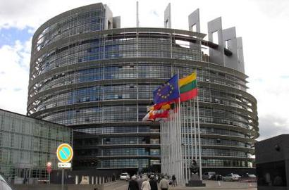 EU Parliament at Brussels