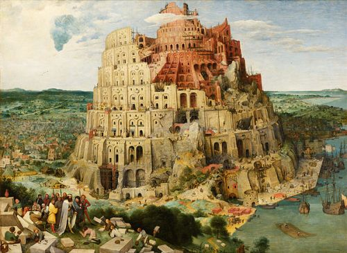 The Tower of Babel by Pieter Bruegel