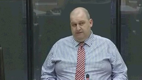 Former Housing Minsiter Carl Sargeant