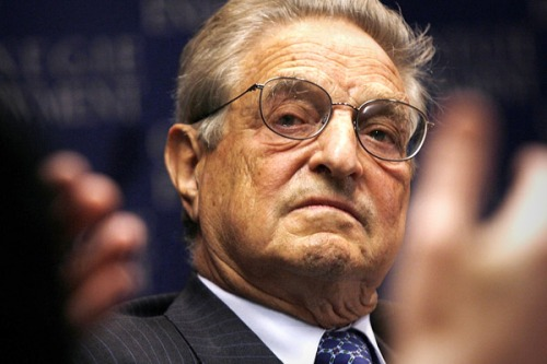 George Soros, alleged funder of many 'springs' and movements